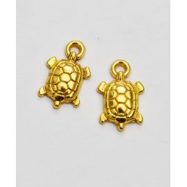 "Pendant ""Turtle"" 15x9 mm., 1 pcs."