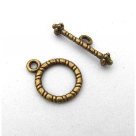 Necklace clasp 16x12 mm., 1 pcs.
