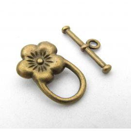 Necklace clasp 21x13 mm., 1 pcs.