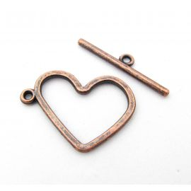 Necklace clasp 29x20 mm., 1 pcs.