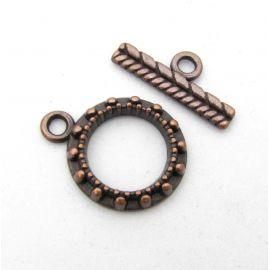 Necklace clasp 19x15 mm., 1 pcs.