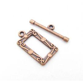 Necklace clasp 21x12 mm., 1 pcs.