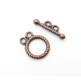 Necklace clasp 15x12 mm., 1 pcs.