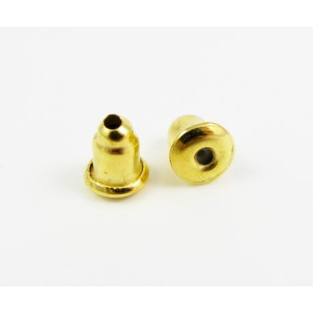 Earring lock for jewelry production 6 mm