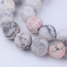 Natural Bea herd beads 10-11 mm., 1 strand