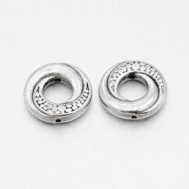 Decorative closed ring - insert 15 mm., 6 pcs.