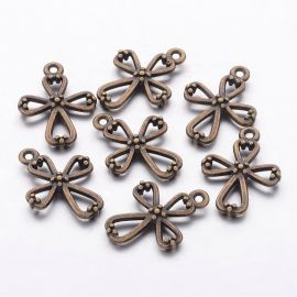 "Pendant ""Cross"" 23x17 mm., 1 pcs."