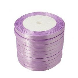 Satin ribbon 6 mm, 22 m.