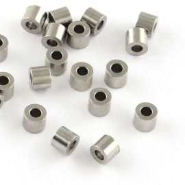 Stainless steel 304 spacer 2.5x3 mm., 10 pcs.