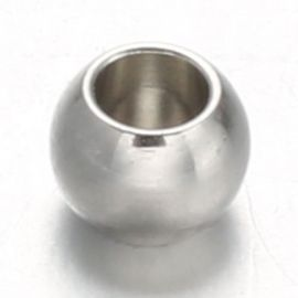Stainless steel 304 insert 8x6 mm., 10 pcs.