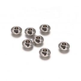 Stainless steel 304 insert 6x3 mm., 10 pcs.
