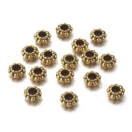 Spacer 6x3 mm., 10 pcs.
