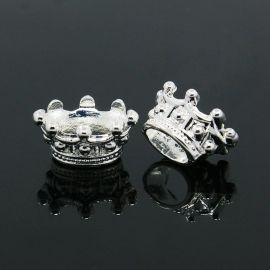 Crown hat 14x10x7 mm., 2 pcs.