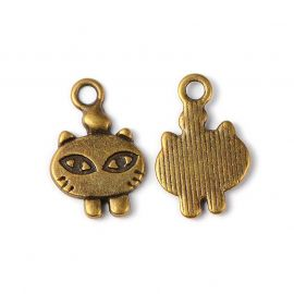 "Pendant ""Cat"" 18,5x12 mm., 5 mm."