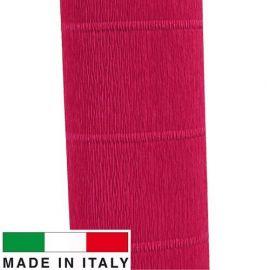 582 Cartotecnica Rossi crepe paper 2.50 x 0.50 m.