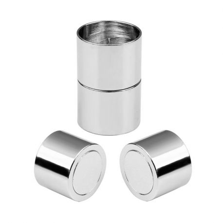 Magnetinis užsegimas, tamsios sidabro spalvos 19.5x11 mm., 1 vnt.