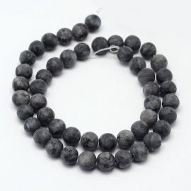 Norwegian Labradorito beads 10 mm., 1 strand