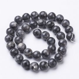Norwegian Labradorito beads 10 mm., 1 strand