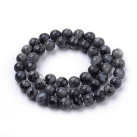 Natural Norwegian labradoritote beads 10 mm., 1 strand