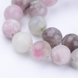 Natural stone beads 10.5 mm., 1 strand