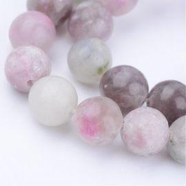 Бусины из натурального камня 8 мм., 1 нитка