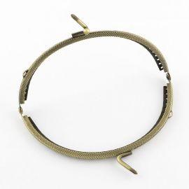 Purse-handbag clasp 127x80x10.5 mm., 1 pcs.