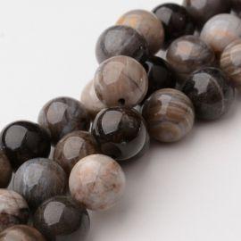 Бусины из натурального кварца 8 мм., 1 нитка