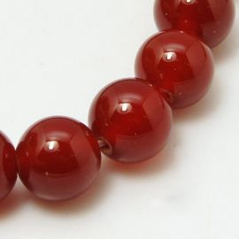 Agate beads 10 mm., 1 strand .