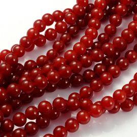 Carnelian beads 10 mm., 1 strand