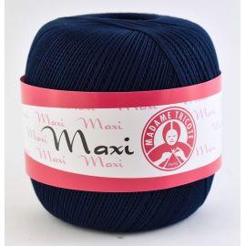 Madame Tricote Maxi thin thread, dark blue 100g. 1 rit.