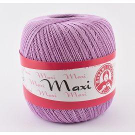 Madame Tricote Maxi ploni siūlai, alyvinės spalvos 100g. 1 rit.