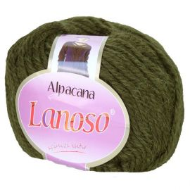 Alpacana Lanos yarn, khaki, 12.60 Eur for 5 rolls