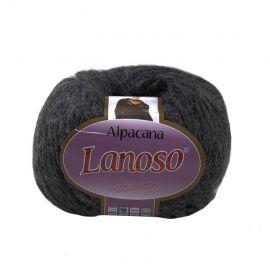 Пряжа Alpacana Lanos, серая, 12,60 евро за 5 рулонов