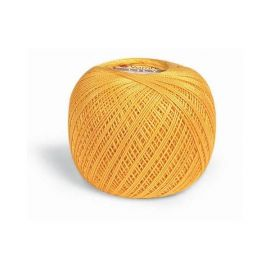 Пряжа Нить Art Lily 6347, цвет желтый, 50 гр.