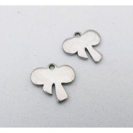"Stainless steel pendant ""Bantukas"" 10x10 mm, 1 pcs."