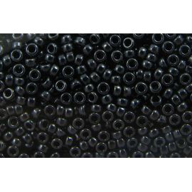 Бисер MIYUKI 11-9451, цвет гематита 11/0 (2,00 мм), 1 пакетик