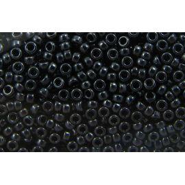 MIYUKI Seed Beads 11-9451, hematite color 11/0 (2.00 mm), 1 pouch
