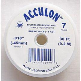 ACCULON troselis storis ~0.45 mm, 1 ritinėlis