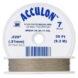 Кабель ACCULON, серый, 1 катушка