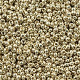 MIYUKI Seed Beads 11-94201, silver color 11/0 (2.00 mm), 1 bag