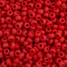 Бисер MIYUKI 11-91425, красный 15 мм, 1 пакет