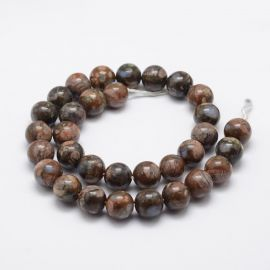 Natural African Opal beads 10 mm., 1 strand
