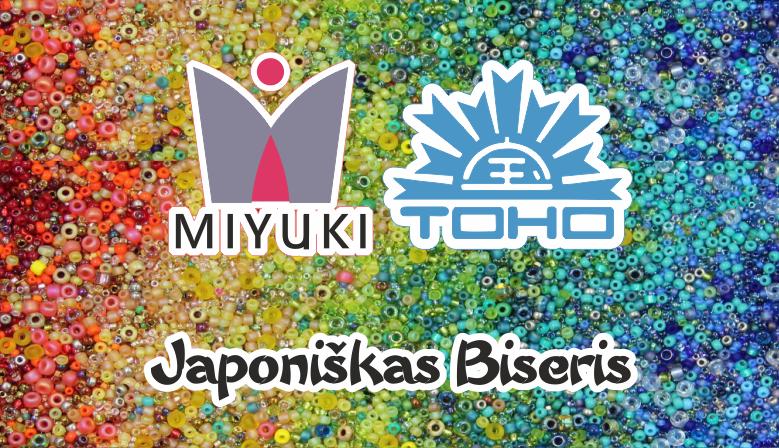 Japoniškas TOHO MIYUKI biseris